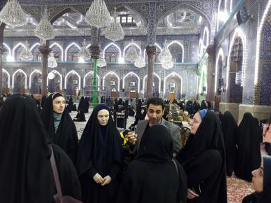 Danish Refugee Council visits Karbala