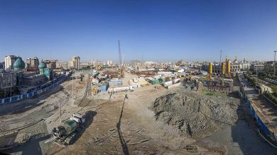 Courtyard of Imam Hussain to be eight times bigger